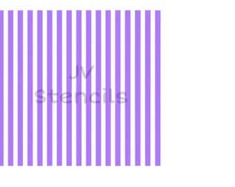 Small / Gingham Stripes Stencil