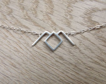 TWIN PEAKS Owl Symbol Necklace