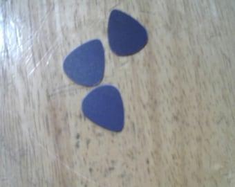 5 Recycled medium Guitar Picks