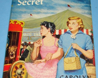 Nancy Drew #31 The Ringmaster's Secret Orig Text DJ