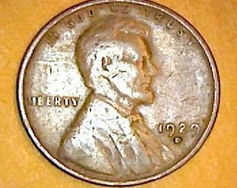 1929 Wheat Penny Etsy