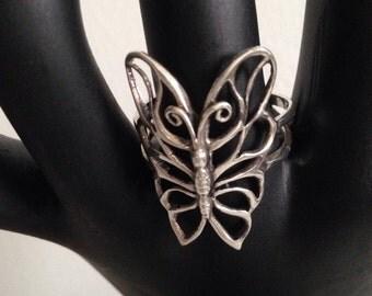 Filligree Buterfly Ring
