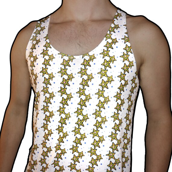 Staryu Pokemon Unisex All-Over Print Tank Top