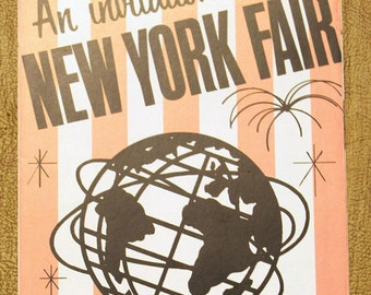 An Invitation to the 1964 New York World's Fair