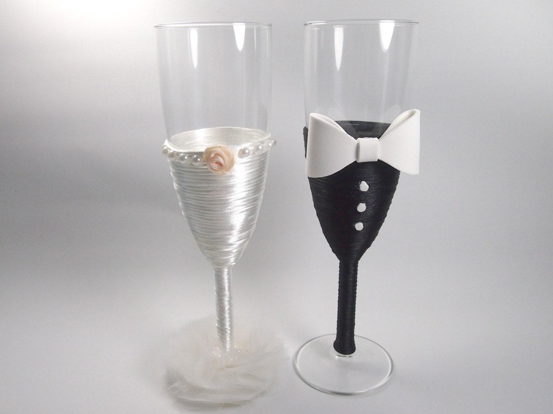 copas de cristal decoradas copas brindis de boda regalo para. Black Bedroom Furniture Sets. Home Design Ideas