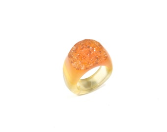 Size 7 Agate Ring