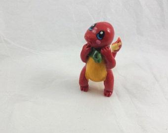 Pokemon, Charmander, clay sculpture