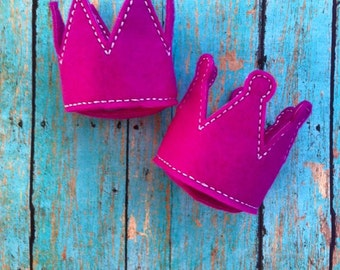 ITH Mini Crown Feltie DIGITAL Embroidery Design
