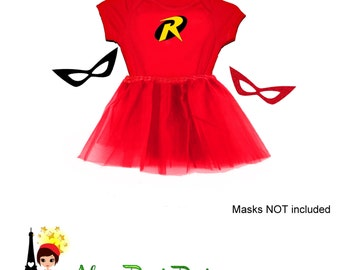 Robin Tutu set - Batman and Robin DC Comics Super Hero