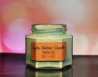 All Natural Green Tea Soy Candle