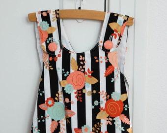 Baby Pinafore Dress // Toddler Pinafore // Pinafore Tunic w/matching bloomers