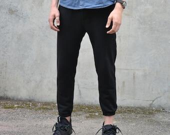 Black Sweat trousers Cotton