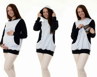 Maternity sweaters still sweater 3-in-1 maternity wear maternity blouse resting sweater