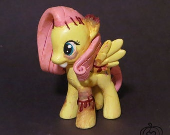 MLP Custom Toy - Zombie Fluttershy