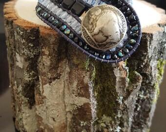 Hand made bracelet.