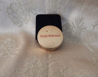 Vintage French Perfume Case