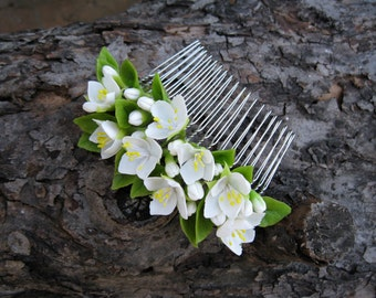 Bridal hair comb Wedding hair comb Bridal hair accessories Bridal hair piece Bridal hair clip Beach wedding Spring wedding Summer wedding