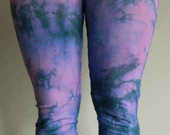 Tie Dye Leggings acid wash Yoga Pants yoga Leggings hand dyed Leggings customized festival galaxy personalised
