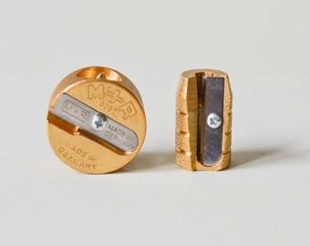 Brass Sharpener, M+R German, single sharpener, double sharpener