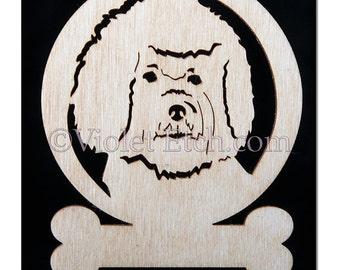 Bichon Frise Ornament-Bichon Frise Gift-Free Personalization