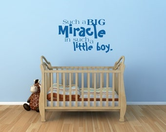 Boy Wall Decal Etsy - Nursery wall decals baby boy