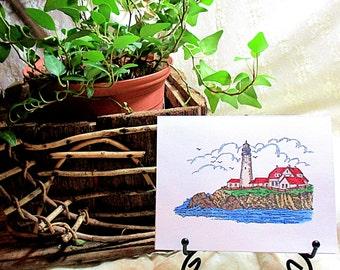 Lighthouse Blank Card