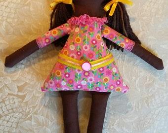 Chocolate Cloth Doll