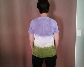 Genderqueer Pride Flag Unisex Tie Dye T Shirt
