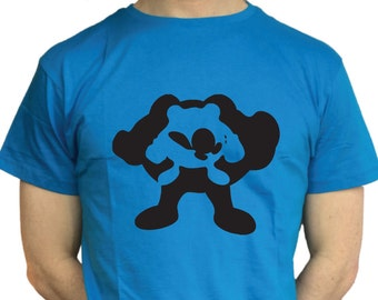 Poliwag, Poliwhirl and Poliwarth Silhouetted Pokemon T Shirts for Men, Women and Children