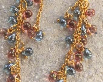 Reduced - Delicate tear drop earrings