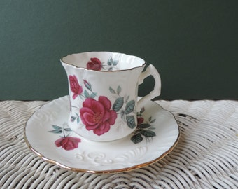 Hammersley Cup and Saucer Bone China Made in England