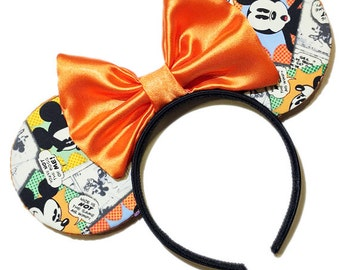 Comic Strip Mouse Ears
