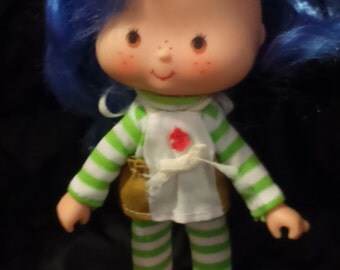 Vintage 1983's Kenner STRAWBERRY Shortcake CREPE SUZETTE Doll in Original Outfit!