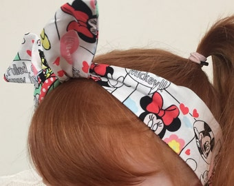 Minnie Mouse Wired Headband