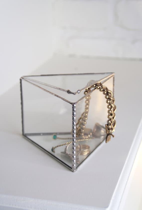 boite à bijoux en verre