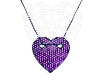 The Heart Necklace Sterling Silver-925