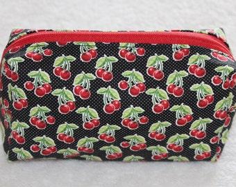 Cherry on Top! Mini Makeup Bag