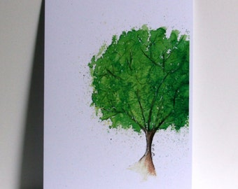Summer tree Postcard