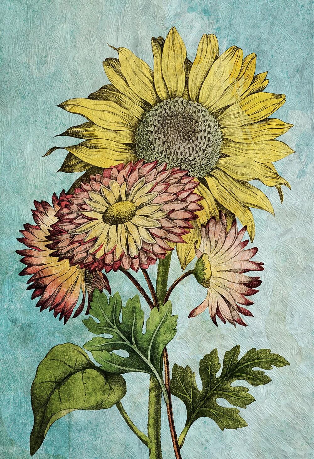sonnenblumen küche dekor | Möbelideen