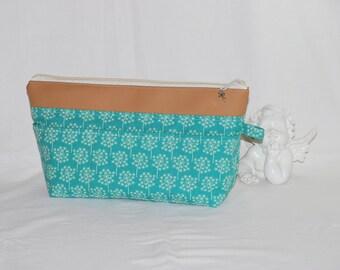 Bag, cosmetic bag with zipper