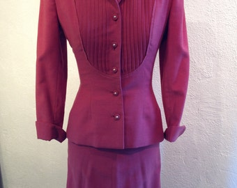 Vintage Blach's Women's 2 Piece Suit