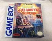 Castlevania 2 Belmont's Revenge Nintendo Gameboy USA Edition - Rare Game - Rare Condition
