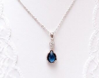 Blue bridal necklace - Gepsy - wedding jewellery - Blue - Something blue - collar wedding - Bridal necklace - blue bridal necklace - jewelry