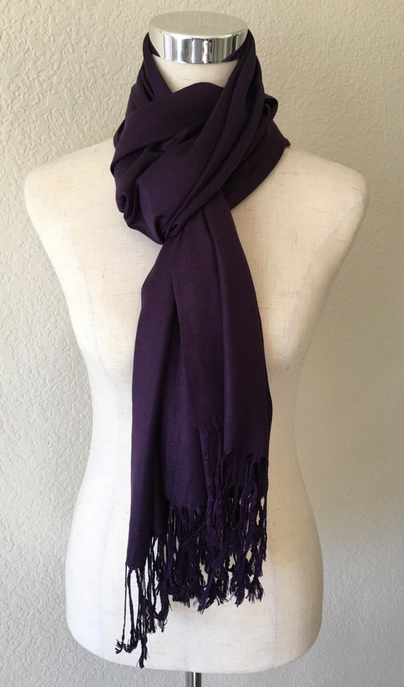 purple monogram scarf monogrammed pashmina by
