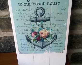 Beach House Wall Hanging