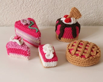 Crochet cupcakes, Amigurumi cupcakes, Stuffed cupcakes, Handmade cupcakes, Soft cookies, Knitted decoration, Cupcakes, Ready to ship