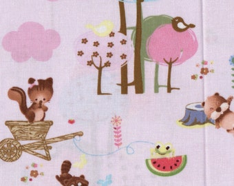 Forest Friends -  Camelot Cottons  - 1 yd