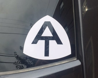 AT Appalachian Trail decal (2 per order)