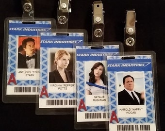Stark Industries ID Badges Inspired by Marvel's Iron Man
