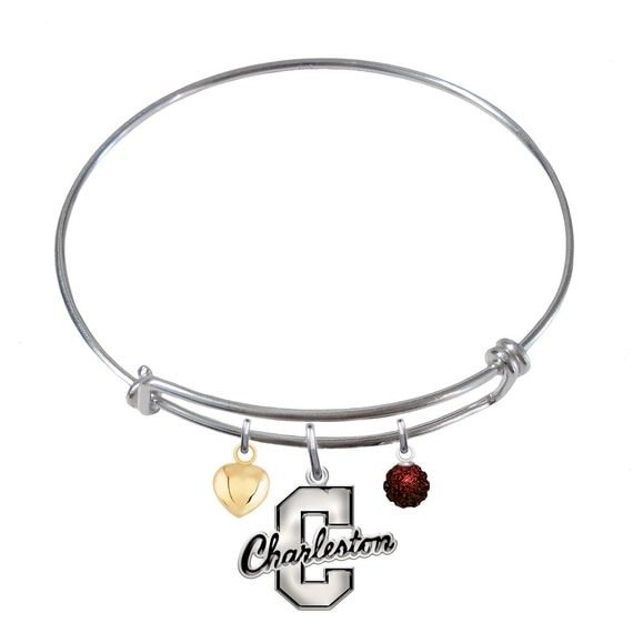 items similar to charleston cougars sterling silver